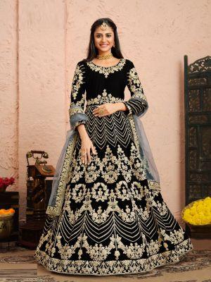 Twisha 22 Party Wear Velvet Designer Salwar Kameez