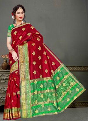 Ronisha Swagat Casual Wear Silk Saree Collection