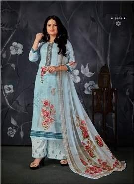 Viraa Pehlu Digital Printed Designer Dress Material Collection