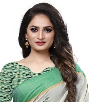 Apple Natural Fever 15 Running Wear Cotton Saree Collection