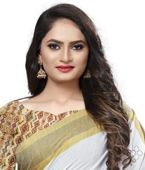 Golden Patta Designer Cotton Silk Saree Wholesaler