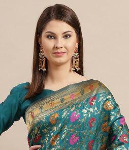 Csesta Silk Festive Wear Silk Blend Saree