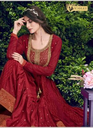 Swagat Violet 6401 Series Heavy Rich Look Wedding Wear Collection