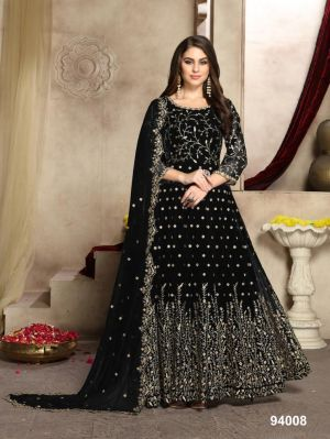 Aanaya 94 New Colors Wedding Wear Georgette Rich Look Collection