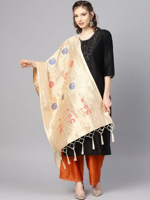 Zarika Hit Color 27 Banarasi Silk Dupatta Wholesaler