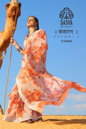 SVA Palakhi 5 Semi Linen Cotton Stylish Saree