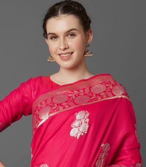 Kaisori Silk Festive Wear Silk Blend Saree