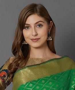 Manikarnika 2 Party Wear Silk Blend Saree