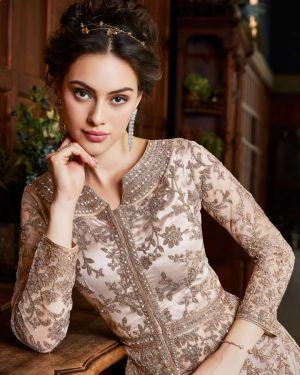 Vipul 4530 Colors Heavy Soft Net Embroidered Salwar Suits