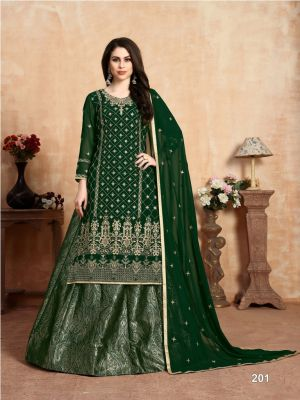 Aanaya 102 Heavy Embroidered Wedding Wear Collection