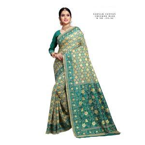 Sabnam Cotton 1 Festive Wear Cotton Saree