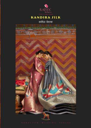 Rajtex Kandira Silk Wedding Wear Heavy Silk Saree
