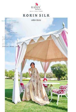 Rajtex Korin Silk Festive Wear Designer Saree