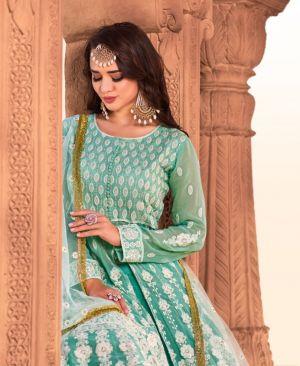Virasat Lucknowi Heavy Wedding Wear Ready Made Collection