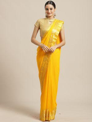 Bahurani 6 Stylish Chiffon Saree Collection