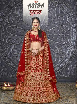 Asisa Dulha Heavy Velvet Designer Lehenga Collection