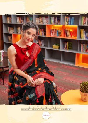 Myra Narayanpeth Pattu Casual Wear Cotton Silk Saree Collection