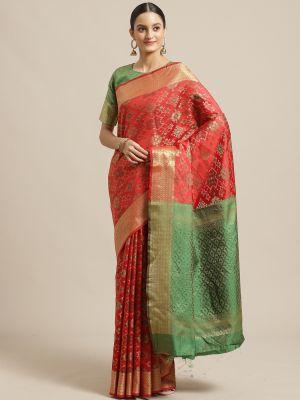 Priya 5 Festive Wear Silk Blend Saree Collection