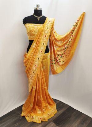 Iris Cotton Silk 1 Pure Cotton Silk Printed Saree