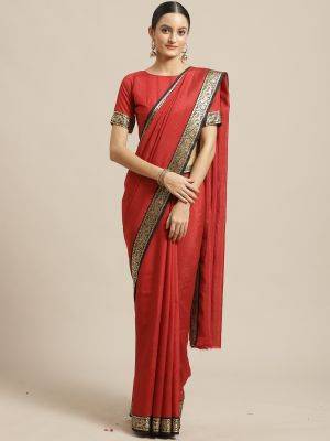 Rishaan Festive Wear Poly Georgette Saree Collection