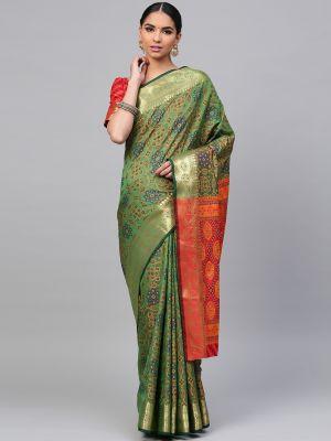 Patola Silk 3 Heavy Festive Wear Patola Silk Saree Collection