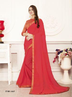 Keshvi Casual Wear Georgette Saree Collection