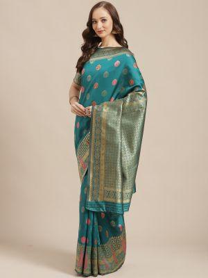 Shikara 2 Festive Wear Silk Blend Saree Collection