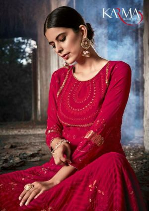 Karma 20070 Series Rich Collection Heavy Salwar Suits