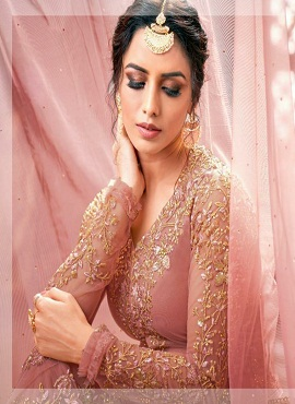 Nazneen 1111 Series Heavy Net Designer Salwar Suits Collection