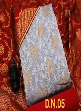 Rnx Jacquard 2 Designer Banarasi Jacquard Dress Material