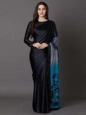 Kaiyara Silk Festive Wear Crape Printed Saree Collection