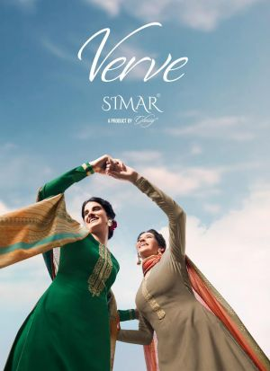 Glossy Simar Verve Festive Wear Salwar Suits Collection