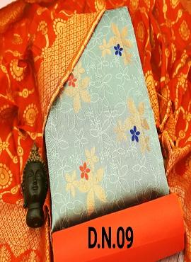 Rnx Jacquard 3 Designer Banarasi Jacquard Dress Material