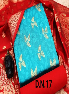 Rnx Jacquard 4 Designer Banarasi Jacquard Dress Material