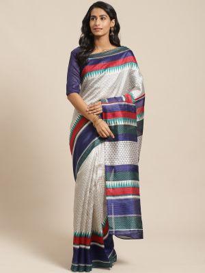 Green Silk 06 Casual Wear Art Silk Saree Collection