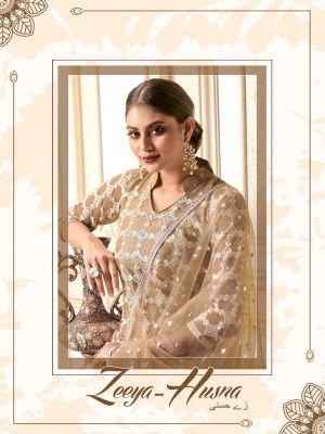 Zeeya Husna 1201 Series Heavy Embroidered Salwar Suits