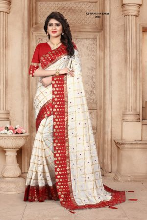Kb Super Hit 2001 Colors Heavy Silk Sarees Collection