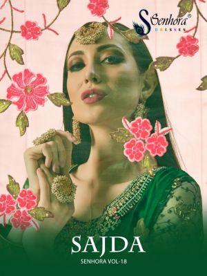 Senhora Sajda 18 Heavy Designer Salwar Suits Wholesaler
