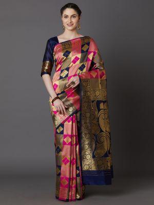 Garima 1 Festive Wear Silk Woven Saree Collection