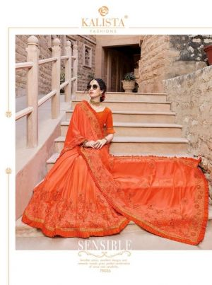 Kalista Ruaab 4 Party Wear Embroidered Saree Collection