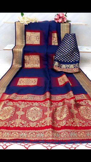Aura Raga Soft Kanjivaram Silk Saree Collection