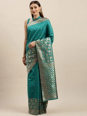 Rich Pallu Silk 2 Party Wear Banarasi Silk Saree Collection