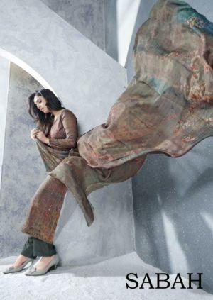 Karma Sabah Pure Cotton Designer Dress Material