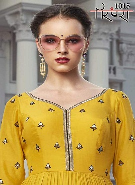 Parmpara 1015 Designer Exclusive Collection Of Long Gown