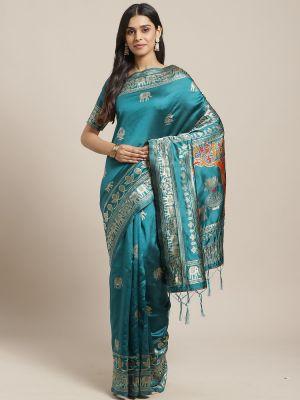 Misri Festive Wear Silk Blend Saree Collection