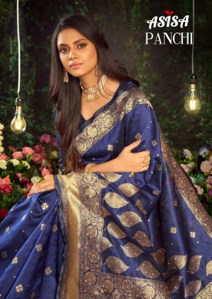 Asisa Panchi Festive Wear Silk Saree Collection