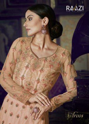 Rama Rraazi Aroos 1001 Series Heavy Embroidered Suits Wholesaler