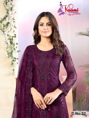 New Arrival Vaani 3 Designer Net Salwar Suits
