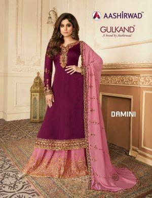 Aashirwad Damini Exclusive Collection Of Designer Salwar Suits