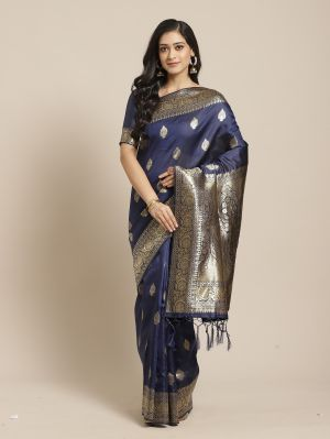 Fiona 2 Festive Silk Blend Woven Saree Collection